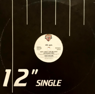 "Van Halen - Why Can't This Be Love (12"") (G+/G)"